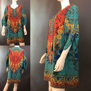 Tops - Urban Coco 3/4 Sleeve Tunic/Dress
